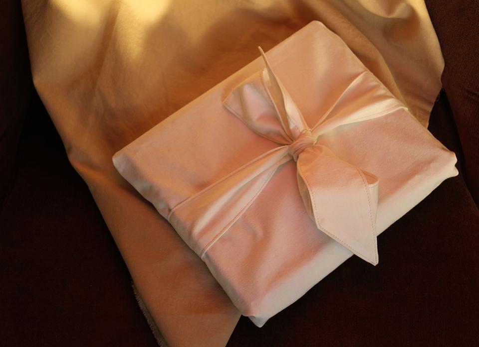 Prototype de tissu-cadeau